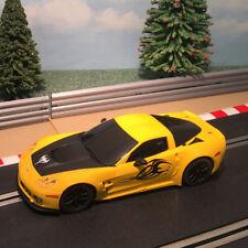 Scalextric 1:32 Digital Car - 2013 Yellow Corvette C6R *LIGHTS* #A