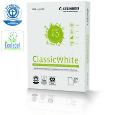 Recycling Kopierpapier STEINBEIS EVOLUTION WHITE A4 80g 10000 Blatt Druckerpapi