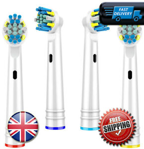 ORAL B Braun Compatible ✅ Electric Toothbrush Heads Replacement Head 4 PACK 🔥 ✅
