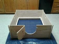 Whelping Box With /Pvc Railing + Free Liner /Dog Puppy Pen / Free Shipping