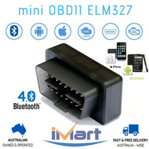 ELM327 OBD2 Bluetooth 4.0 Car Fault Diagnostic Scan Tool iPhone Android For VAG