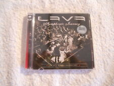 """Lava """"Symphonic Journey"""" 2009 Rare  cd & DVD Live Printed in Norway NEW"""