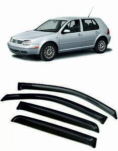 For Volkswagen GOLF IV 1997-2004 Window Visors Sun Rain Guard Vent Deflectors