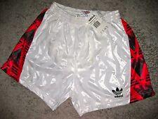 Vintage Adidas Sporthose 90er Shorts M - L Shiny Pants Glanz Turnhose NOS RARIÄT