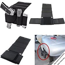 Hand Gun Holster Adjustable Magazine Sleeve Under Seat Car For Glock 42 26 17 19