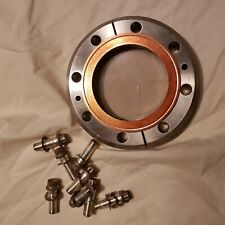 4.5 Inch CF UHV Glass Viewport With Hardware and Gasket High Bacuum