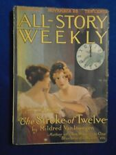 All Story Weekly November 25th 1916  Tarzan Story By Burroughs