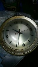 ANTIQUE OLD CHINESE VINTAGE DIAMOND BRAND ELECTRIC CLOCK 220 230 Volt 50 Hz