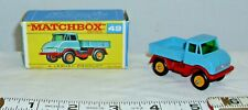LESNEY MATCHBOX UNIMOG TRUCK NO. 49 1961 BOXED