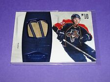 2010-11 Dominion DAVID BOOTH #42 Prime Patch/25 Florida PANTHERS Michigan State