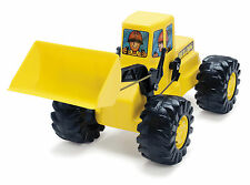 YELLOW & BLACK LARGE EXCAVATOR by DANTOY LARGE PUSH ALONG DIGGER BUILT TO LAST