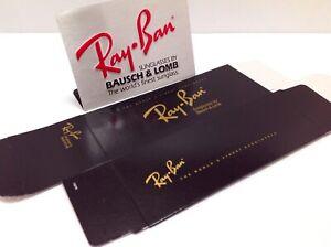 NOS B&L RAY BAN USA BOX FOR AVIATOR SPORT SHOOTER GENERAL DIAMOND HARD VTG RARE