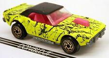 Matchbox 1974 Dodge Challenger Hot Rod Splatter Yellow Paint 1:65 Scale