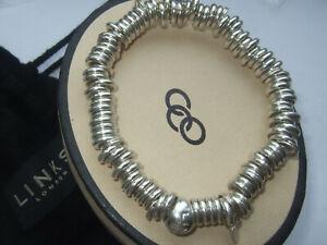 Ex-display genuine Links of London Sweetie bracelet size Medium RRP £195