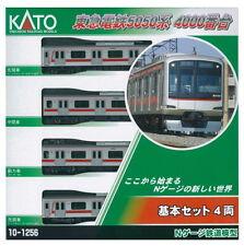 Kato N Scale N Gauge 6 Tokyu Railway 5050-4000 4 Train Set 1/150 10-1256 New