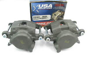 USA Industries FRP4071 Remanufactured Disc Brake Caliper Set - Front