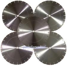 5pk 16 Concrete Brick Block Paver Asphalt Laser Welded Diamond Saw Blade Best