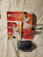 EA Sports Active Personal Trainer Nintendo Wii Complete in box Disc Band Strap