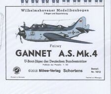 Card Model Kit – Fairey Gannet