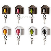 Bird&House Designed Nest Key Holder Chain Ring Keychain Keyring Hanger RDR