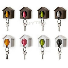 Bird&House Designed Nest Key Holder Chain Ring Keychain Keyring Hanger JD w/