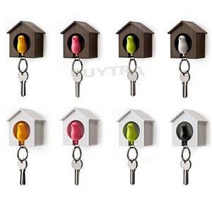 Bird&House Designed Nest Key Holder Chain Ring Keychain Keyring Hanger JD ON MW