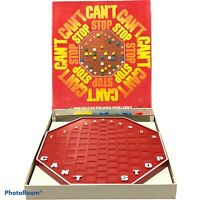 Vintage Can't Stop Board Game Complete Parker Brothers 1980