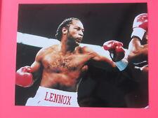 LENNOX LEWIS  8 x 10 PHOTO BOXING