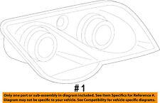 CHRYSLER OEM 04-08 Crossfire-Headlight-Head light Headlamp Assy Left 68024633AA