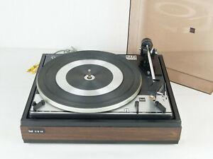 Dual 1214 Hifi Plattenspieler mit Shure M75 System - Vintage - Überholt