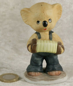 Koala Bear Ornament 3.5 inches tall made in Taiwan zoo animal collectable