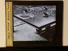 Modern Furniture: Dining Table, Magic Lantern Glass  Slide