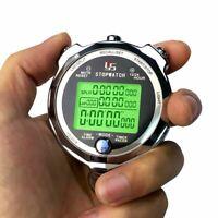 Professional Digital Stopwatch Timer Chronograph Handheld Training Sports Watch