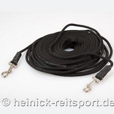 Heinick Doppellonge mit Seil Länge: ca 18 mtr hochwertig Vorne Rund Longierleine