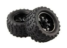 RC 1:10 Monster Bigfoot Truck Rubber Sponge Tires Tyre Wheel Rim For HSP 88035