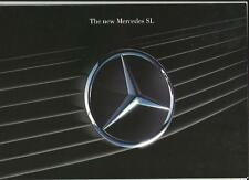 MERCEDES BENZ 300 SL, 300 SL-24 & 500 SL  SALES BROCHURE AUGUST 1988 FOR 1989