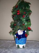 CHRISTMAS TREE TOPIARY  FLORAL ARRANGEMENT
