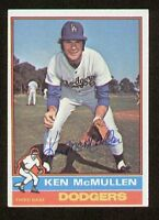 Ken McMullen #566 signed autograph auto 1976 Topps Baseball Trading Card