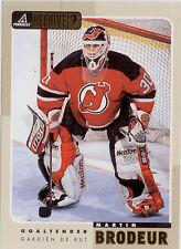 Martin Brodeur-1998-99 Pinnacle Beehive Hockey NHL Trading Jumbo Card # 45