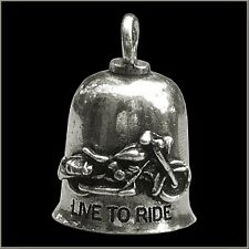 NEW LIVE TO RIDE GREMLIN BELL KEY RING BIKER GIFT + STORY CARD