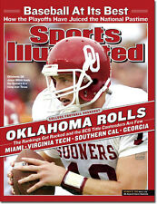 October 20, 2003 Jason White, Oklahoma Sooners Sports Illustrated A