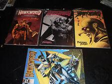 Hawkworld Mini-Series #1-3 Regular Series #1 DC Comics 1990