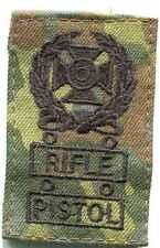 Armée: us-Expert Noir sur camouflage: rifle-pistol .1 pièce