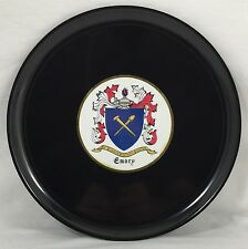 Emory College Couroc Serving Plate Armorial History Coat of Arms Wise Heart Soc.