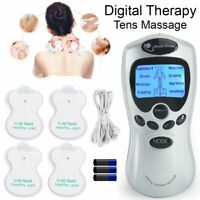 Tens Machine Digital Therapy Full Massager 8 Pain Relief Acupuncture Sciatic UK