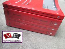 Corvette 1997 New SEALED GM Service Manuals 97 Complete Set Books Repair Manual