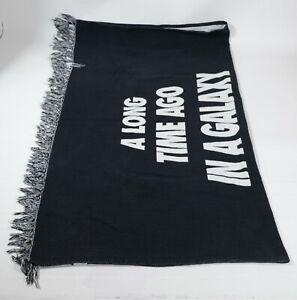"Star Wars 40th Anniversary Throw Blanket A Long Time Ago 56""X46"""