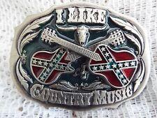 La Musica Country Cintura Fibbia in metallo