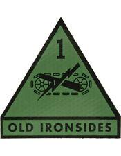 IR ACU Patch 001 Armor Division Olive Drab (IR-7005-OD)