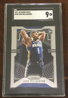 Zion Williamson 2019 Panini Prizm ROOKIE Card RC #248 Graded SGC 9 MINT Pelicans